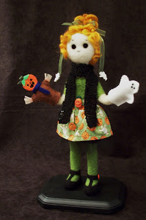 Petra and cards doll
