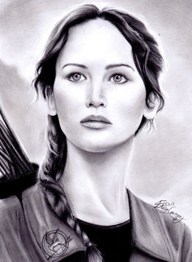 Katniss by Eliza