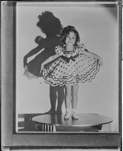 Shirley Temple Black  Courtesy of Boston Public Library