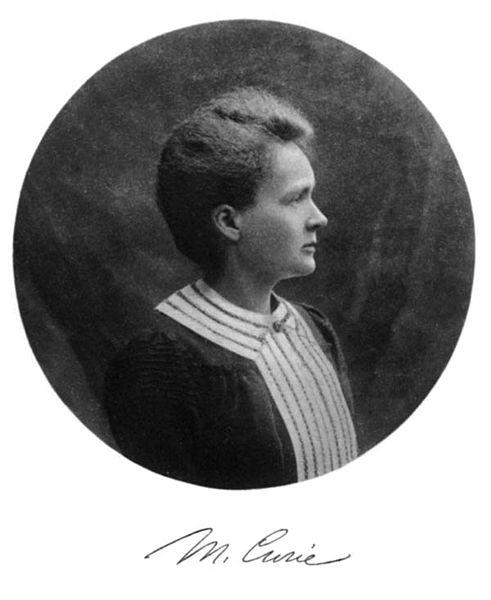 Marie Curie Nobel Prize Portrait ca. 1903