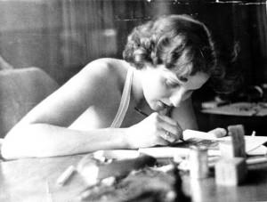 Photo of Alice B. Sheldon from Julie-Phillips.com