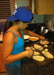 danielle cooking