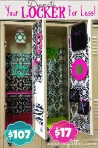 inexpensive locker