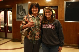 Heather with Dr. Speer