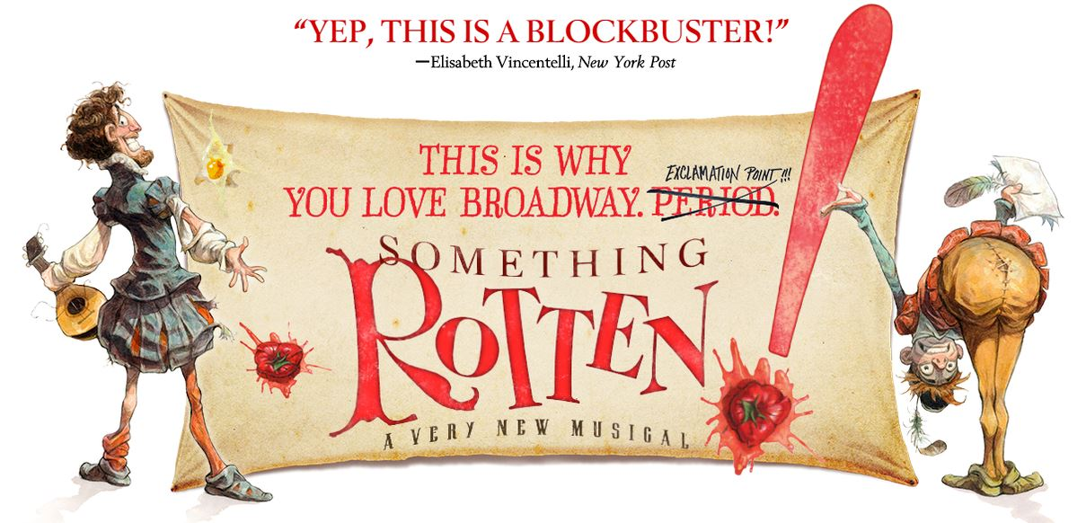 there is something rotten in the 15 photos there was something rotten at the bookstore  new something rotten cast members catch some rays at broadway in bryant park  something rotten.