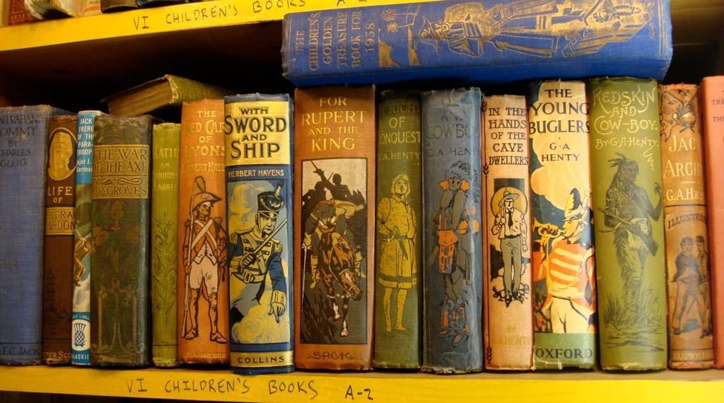 Old Victorian Childrens' Books