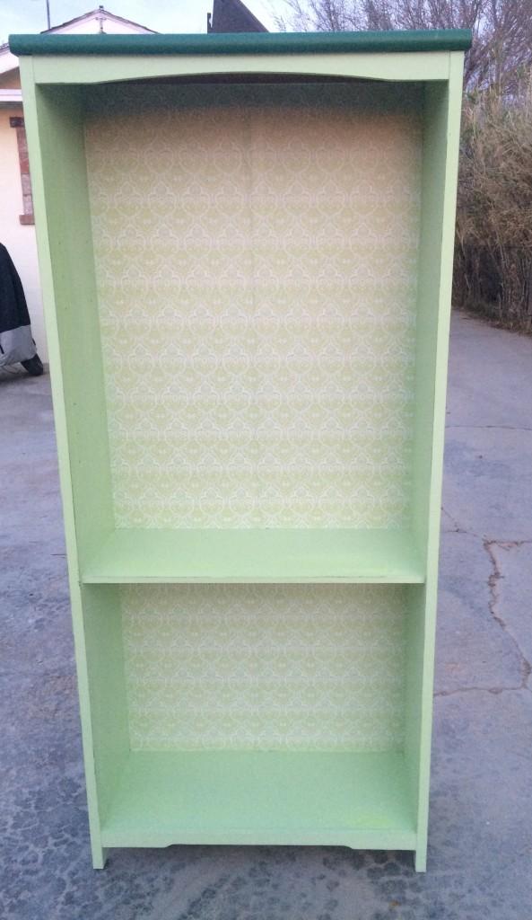 finished bookshelf