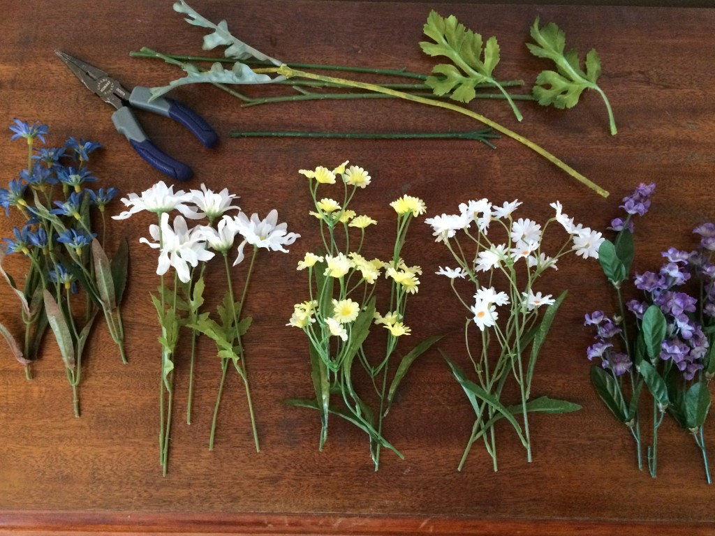 cut sorted flowers