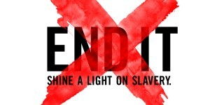 Image from the End It Movement, a global initiative via social media to end human trafficking.
