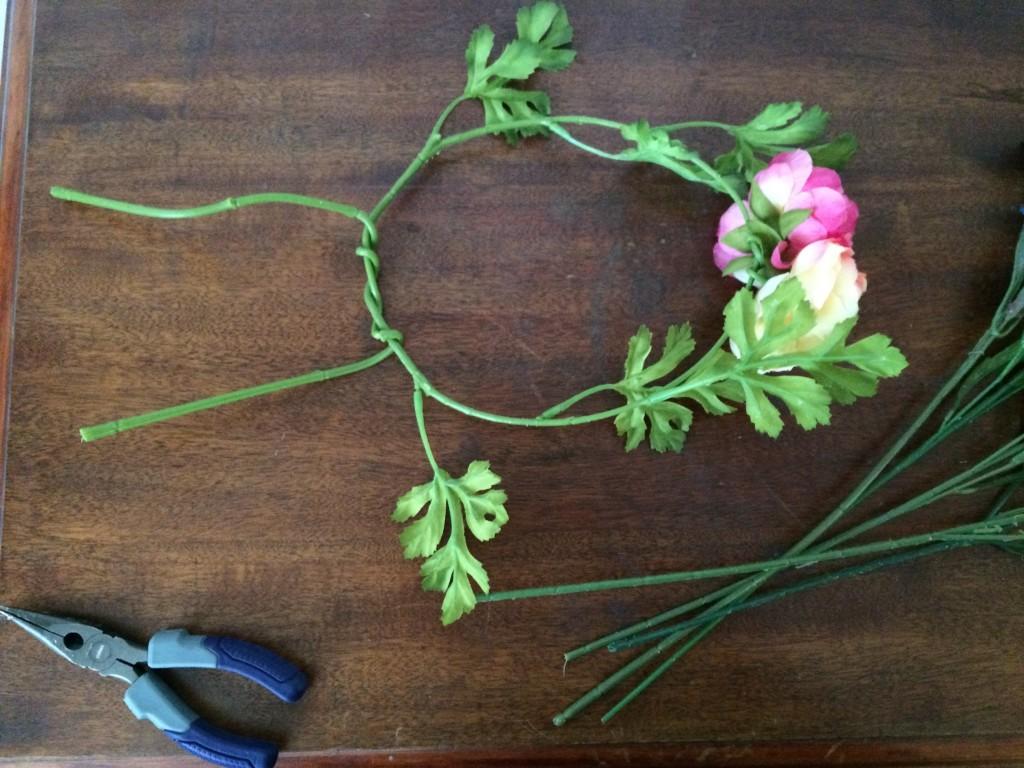 form flower crown