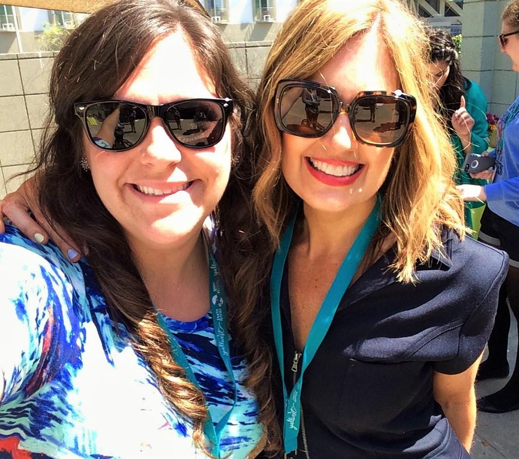 Jennifer Niven and I at Yall West 2016