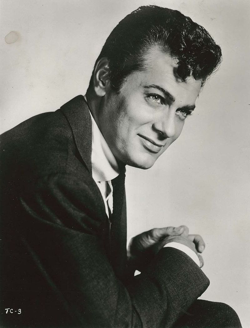 Old Hollywood Spotlight Tony Curtis